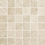 Flash bianco mozaika cieta mat - dlaždice mozaika 29,8x29,8 krémová matná