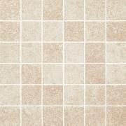Flash bianco mozaika cieta polpoler - dlaždice mozaika 29,8x29,8 krémová pololesklá