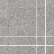 Flash grys mozaika cieta polpoler - dlaždice mozaika 29,8x29,8 šedá pololesklá