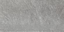 Flash grys stopnica polpoler - schodovka 30x60 šedá pololesklá