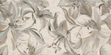 Domus beige inserto flower - obkládačka inzerto 30x60