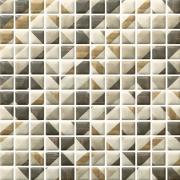 Enya grafit mozaika prasowana - obkládačka mozaika 29,8x29,8 šedá