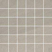 Rockstone antracite mozaika cieta poler - dlaždice mozaika 29,8x29,8 šedá lesklá