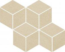 Rockstone beige mozaika cieta mix - dlaždice mozaika 23,8x20,4 béžová