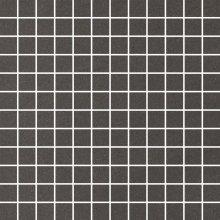 Rockstone grafit mozaika cieta poler - dlaždice mozaika 29,8x29,8 šedá lesklá