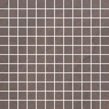Rockstone umbra mozaika cieta poler - dlaždice mozaika 29,8x29,8 hnědá lesklá