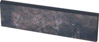 Viano antracite cokol - dlaždice sokl 30x8,1 šedá