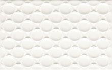 Martynika bianco struktura - obkládačka 25x40 bílá