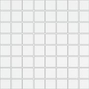 Inwencja white mosaic - obkládačka mozaika 20x20 bílá