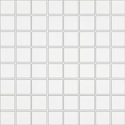 Inwencja white mosaic glossy - obkládačka mozaika 20x20 bílá
