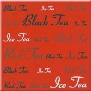Aplauz red inserto tea - obkládačka inzerto 10x10