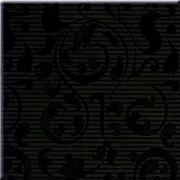 Aplauz black inserto ornament - obkládačka inzerto 10x10