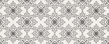 Black and White pattern E - obkládačka 20x50
