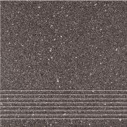 Hyperion H11 black steptread - schodovka 29,7x29,7 černá matná