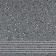 Hyperion H10 graphite steptread - schodovka 29,7x29,7 šedá matná