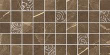 Arkos brown mosaic classic - dlaždice mozaika 22,2x44,6 hnědá