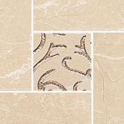 Arkos cream corner classic - dlaždice bordura roh 9,8x9,8 krémová
