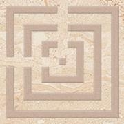 Daino cream corner classic  - dlaždice bordura 7,2x7,2 krémová