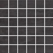 Concrete Flower Graphite Mosaic - dlaždice mozaika 29,7x29,7 šedá
