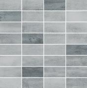 Floorwood Grey-Graphite Mix Mosaic - dlaždice mozaika 29x29,5