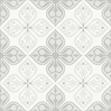 Parchwork Flores - dlaždice 29,8x29,8 bílá