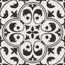 Parchwork Naomi - dlaždice 29,8x29,8 bílá