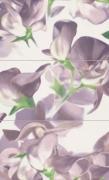 D-Bloom Violet - obkládačka inzerto set 59,3x98,5