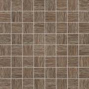Biloba Brown - obkládačka mozaika 30,8x30,8 hnědá