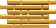 D-Coll Honey - obkládačka inzerto 29,8x59,8 žlutá