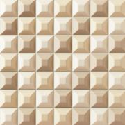 Elementary cream mozaika - obkládačka mozaika 31,4x31,4 krémová