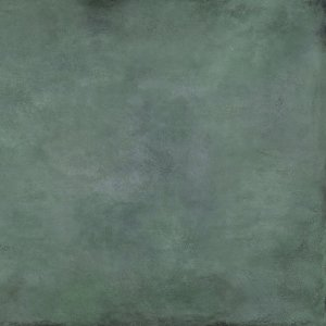 Patina Plate green mat - dlaždice rektifikovaná 119,8x119,8 zelená matná