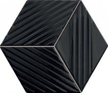Colour black - obkládačka mozaika 22,6x19,8 lesklá