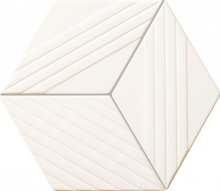 Colour white - obkládačka mozaika 22,6x19,8 bílá matná