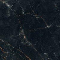 Shinestone black pol - dlaždice rektifikovaná 79,8x79,8 černá