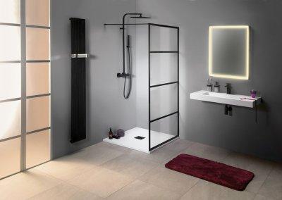 Cure Black - sprchové zástěny