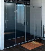 Sprchové dveře Dragon posuvné 170 cm, sklo čiré/lesklý chrom