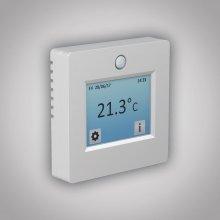 Termostat TFT-2 (dotykový) - programovatelný univerzální termostat - snímá teplotu prostoru i podlah