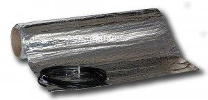 AL MAT 80/3 - topná rohož v hliníkové folií pod plovoucí podlahu
