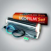 ES 80-1x2m / 156W - sada s folií 80 W/m2