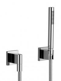 Deque - sprchová souprava, nástěnná montáž, rozety