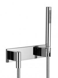 Deque - sprchová souprava, nástěnná montáž, krycí deska