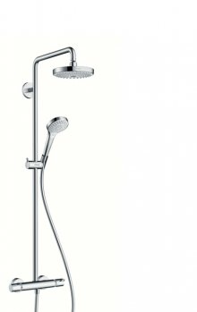 Croma Select S 180 2jet Showerpipe, bílá/chrom