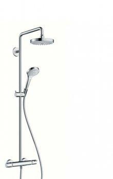 Croma Select S 180 2jet Showerpipe EcoSmart 9 l/min, bílá/chrom