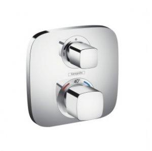 Ecostat E termostatická baterie a ventily pod omítku, 1 spotřebič