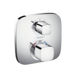Ecostat E termostatická baterie a ventily pod omítku, 2 spotřebiče