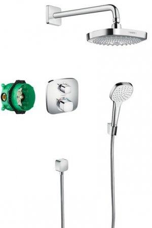 Designová sprchová souprava Croma Select E / Ecostat E