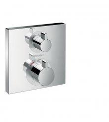 Ecostat Square termostatická baterie pod omítku pro 2 spotřebiče