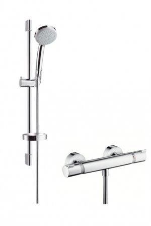 Ecostat Comfort Combi 0,65 m s ruční sprchou Croma 100 Vario EcoSmart 9 l/min