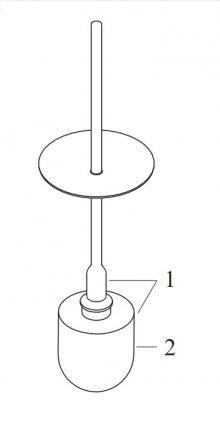 Starck - náhradní WC kartáč (2) pro 40889000