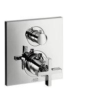 Citterio - termostatická podomítková baterie, 2 spotřebiče, vrchní sada